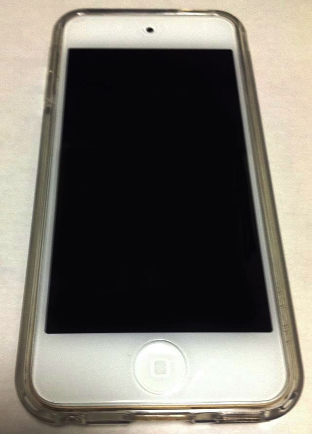 iPod-touch-7ガラスカバー装着表