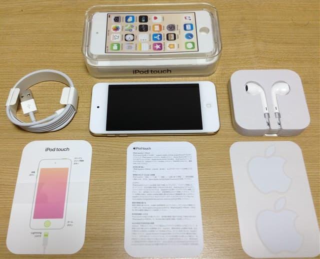 iPod-touch-7同封付属品